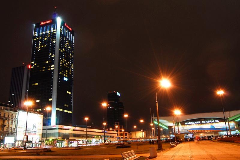 Oświetlenie Hotel Marriott Warszawa Polska