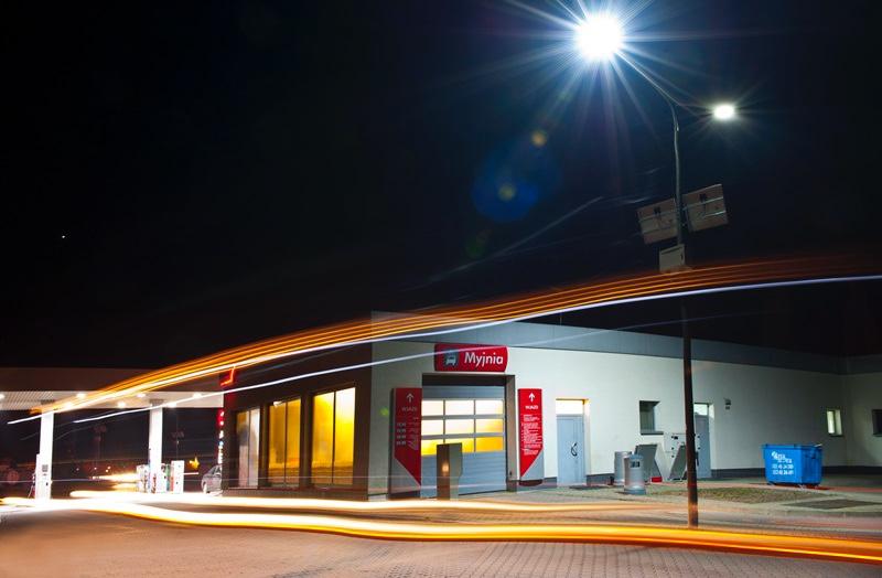Oświetlenie Stacji Benzynowej Polska
