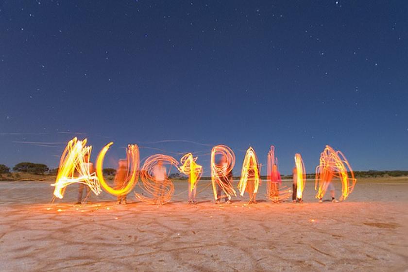 Lediko w Australii !